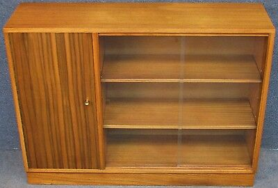 1950s Morris Of Glasgow Cumbrae Low Teak Bookcase / Bookshelves / Cabinet