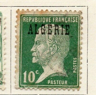 Algeria 1924-26 Early Issue Fine Used 10c. Optd 097294