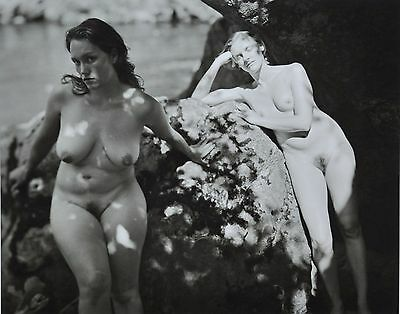 Jock Sturges Original XXL Photo Kunstdruck Art Print 73x67 Nude Women Girls B&W