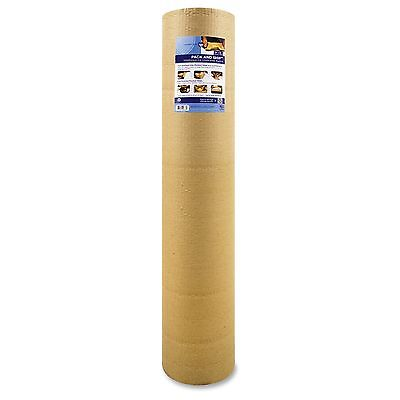 "Sparco Cohesive Corrugated Wrap - 18"" Width X 25 Ft Length - Non-scratching,"
