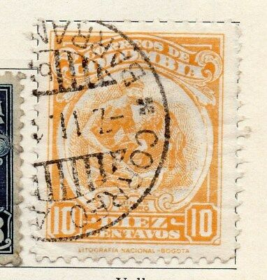 Colombia 1932 Air Stamp Issue Fine Used 10c. 097585