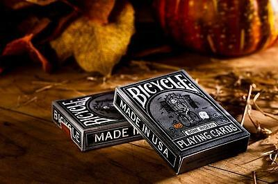 Bicycle Bone Riders Deck Of Playing Cards Magic Tricks Games Halloween Horror