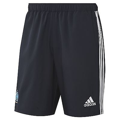 adidas Mens Gents Football Soccer Olympique de Marseille Training Woven Shorts