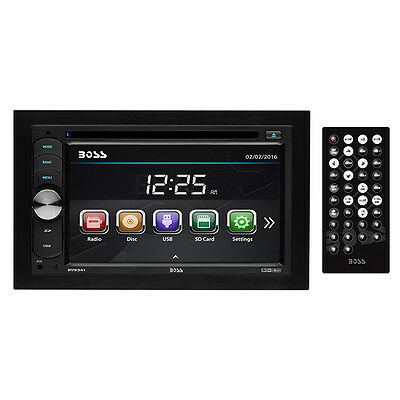 BOSS AUDIO BV9341 Double-DIN 6.2 inch Touchscreen DVD Player, Receiver, Wireless
