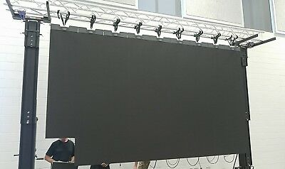 16ft x 9ft Turn Key HD LED Video Wall System! Amazing Video Panels!
