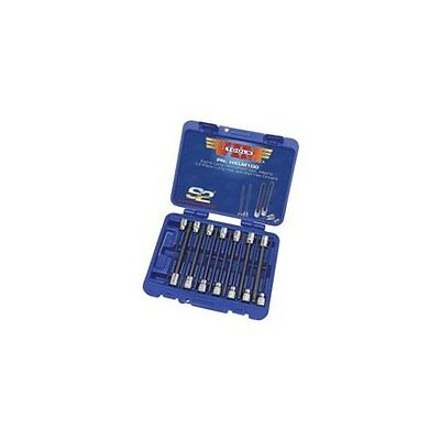 """Vim Products HXL100 14 Piece 3/8"""" Square Drive Sae Extra Long Hex And Ball Hex"""