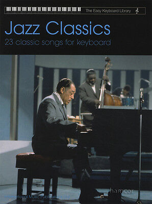 Jazz Classics The Easy Keyboard Library Sheet Music Book