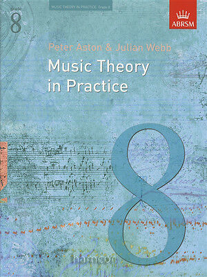Music Theory in Practice ABRSM Grade 8 Exam Syllabus Support Book