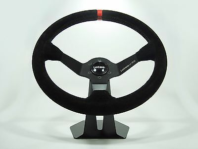 Steering Wheel LOTSE WRC Suede with Universal QUICK RELEASE