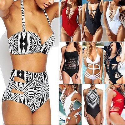 HOT Women Bikini Set Bandage Push-up Padded Bra Swimsuit Bathing Suit Swimwear