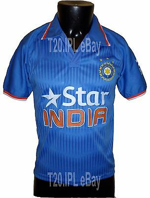 IPL DEFECTIVE India 2016 Jersey / Shirt, T20, Cricket India