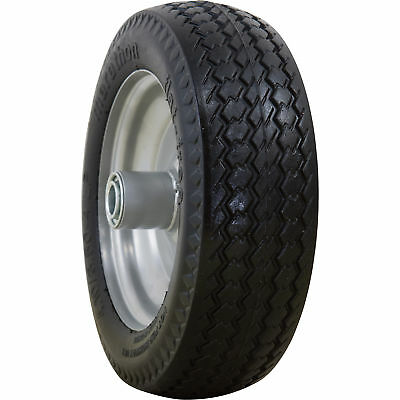 Marathon Tires Flat-Free Hand Truck Tire - 3/4in. Bore, 4.10/3.50-4in.