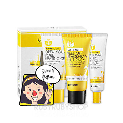 [Mizon] Let Me Out Byebye Blackhead 3 Step Kit