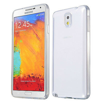 Cover Per Samsung Galaxy Note 3 Custodia Silicone Trasparente Tpu Gel Slim Case