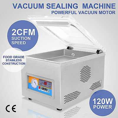 Sealing Sealer Machine Vacuum Packing Packaging Adjustable Time Commercial Home