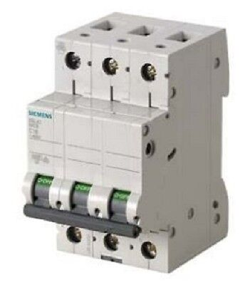 Siemens - Circuit Breaker 400V, 6kA, 3 Pole, C, 20A (Box of 4)