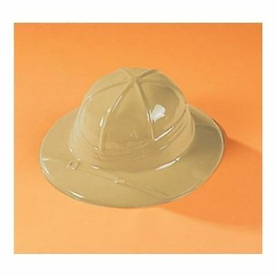 Safari Jungle Explorer Animal Party Supplies Childs Plastic Hat – Each