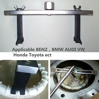 Fuel Pump Lid Tank Cover Remove Spanner Adjustable Wrench Tool For Benz For BMW