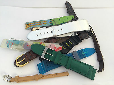 11 Stock Strap Watch Cinturini Orologio Band Uhr Vintage Small Defects St1453 De