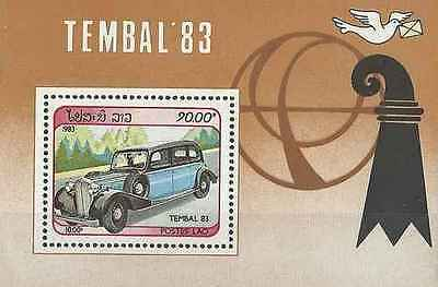 Timbre Voitures Laos BF74 ** lot 16141
