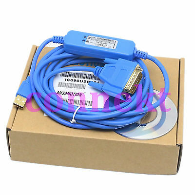GE GE90-30 70 PLC Programming Cable USB/SNP IC690USB901