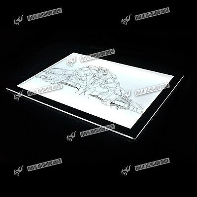 A3/A4 Ultra-thin Dimmable Brightness Artist Tattoo Light Box LED Pad Lighting