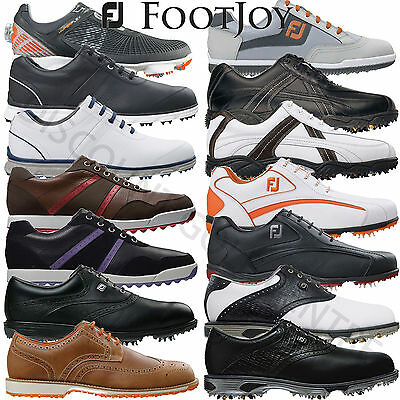 """CLEARANCE"" FootJoy Men's Leather Waterproof Various Golf Shoes"
