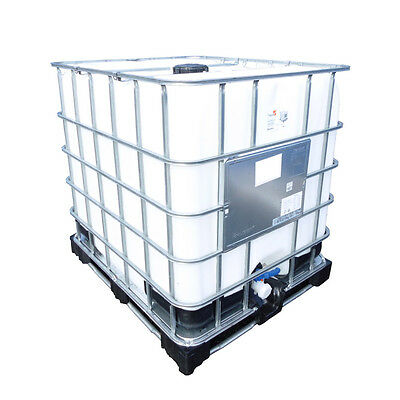 Brand New 1000 L Ltr Litre IBC Storage Tank Container for Water Chemicals Farm
