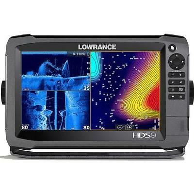 Lawrence Hds 12 Gen 3 Insight Fishfinder With Transducer