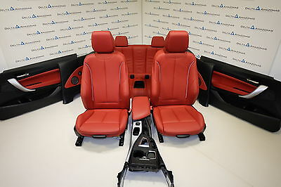 BMW F23 Leather Sport Seats Interior Sportsitze Ausstattung Dakota Korallrot