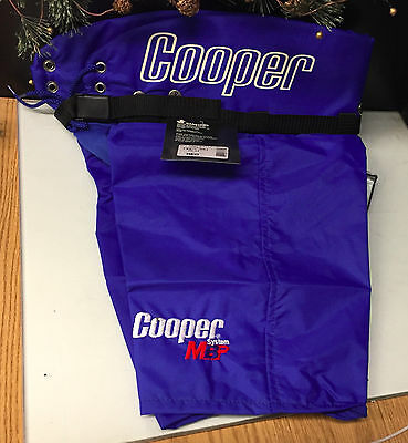 Cooper - Youth Hockey Pants -  MIS-Body Shell - Blue - Size Medium - New In Bag