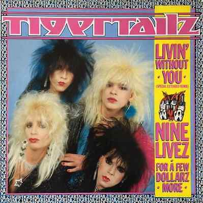 "TIGERTAILZ ‎- Livin' Without You (12"") (VG+/EX)"