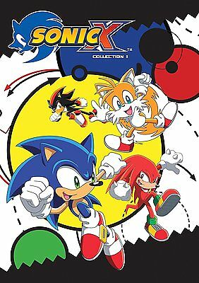 Sonic X: Anime Series Complete Collection 1 Seasons 1 & 2 Box / DVD Set NEW!