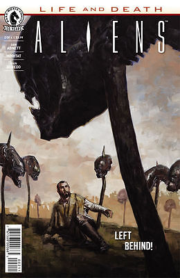 ALIENS LIFE AND DEATH #2 (Dark Horse 2016 1st Print) COMIC. BOARDED. FREE UK P&P
