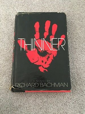 Thinner By Richard Bachman Hardcover 1984