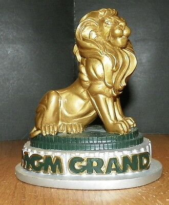 MGM Grand - Las Vegas -  Lion Resin Figurine Statue