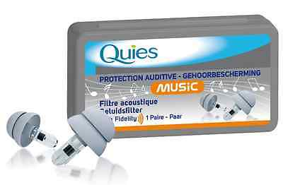 Quies Music acoustic filters