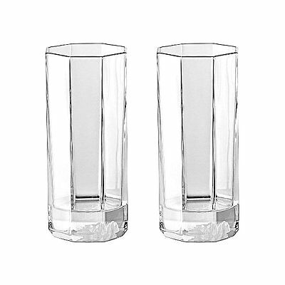 Versace Medusa Lumiere Crystal Longdrink Set of 2
