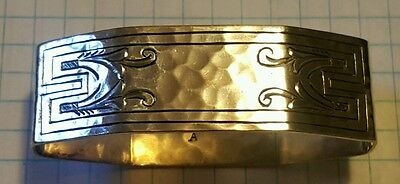 ART & Crafts STERLING SILVER NAPKIN RING NAPKIN HOLDER The Merrill Shops 150 A