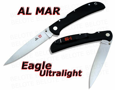 Al Mar EAGLE ULTRALIGHT Micarta Plain Edge 1005UBK2 NEW