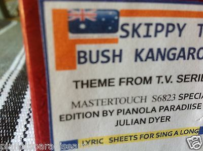 Skippy The Bush Kangaroo   -    New !!  Pianola  Player Piano Roll