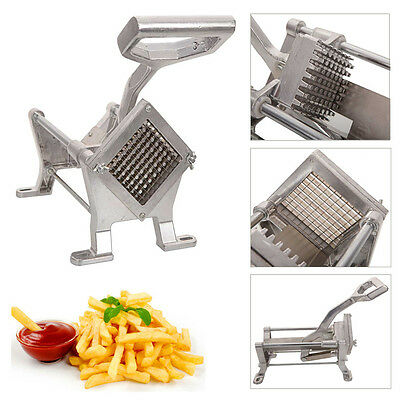 Potato Fruit Vegetable Cutter Slicer Commercial Quality W 3 Blades French Fry
