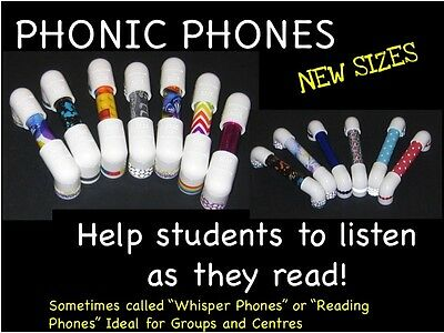 NEW Phonic Phones / Reading Phones Listen and Learn to Read KIDS LOVE THEM!
