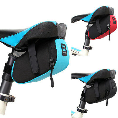 Outdoor Bike Bicycle Cycling Waterproof Saddle Bag Tail Seat Rear Pouch Storage