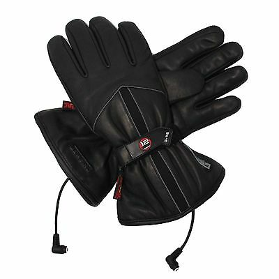 Gerbing G-12 Heated Motorcycle Leather Gloves