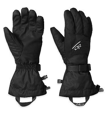 Outdoor Research Mens Adrenaline Gloves, Black, Large