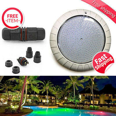 Epoxy Resin Filled Swimming Pool Light 45W SMD 2835 LED 7 Colours Remote Control