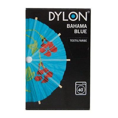 Dylon 200g Bahama Blue Machine Fabric Dye - FREE P&P