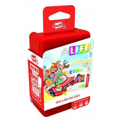 Shuffle Game of Life Card Game NEW