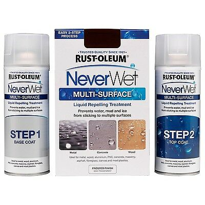 Rust-Oleum NeverWet Spray Water Repelling Multi-Purpose Hydrophobic Treatment